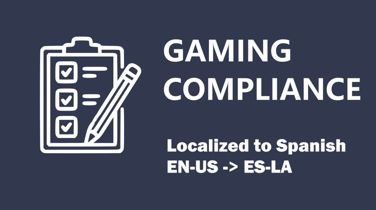 Gaming Compliance Management